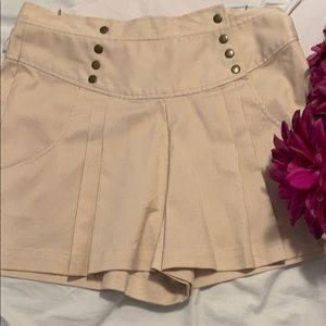 Anthropologie high waisted shorts.